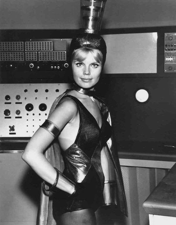 I kind of would want to wear this anytime and anywhere (Marta Kristen, Lost in Space--  source )