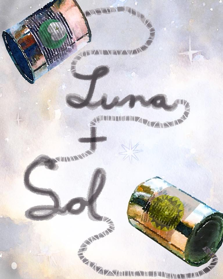 Luna + Sol - Hardcover Release Slated for February 09, 2019(Pre-order will be available January 1st, 2019)Luna + Sol are two children from different worlds and have one major problem in common: They wish they had a friend. A delightful and vibrant story about friendship, honoring differences, and adventure.