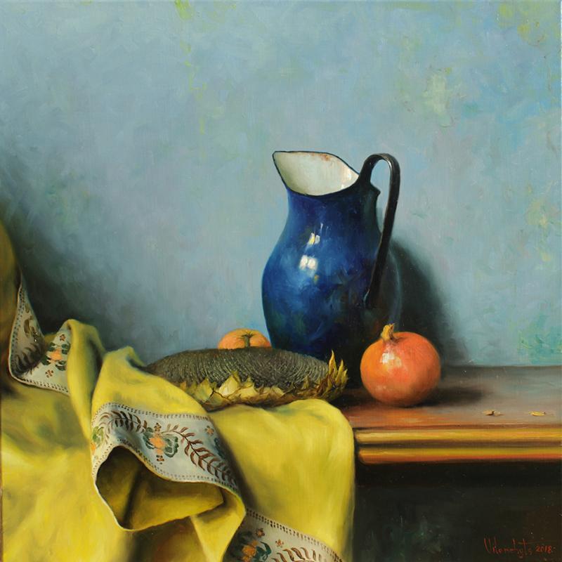 'Still Life with Blue Jug' by Vladimir Vilenchyts