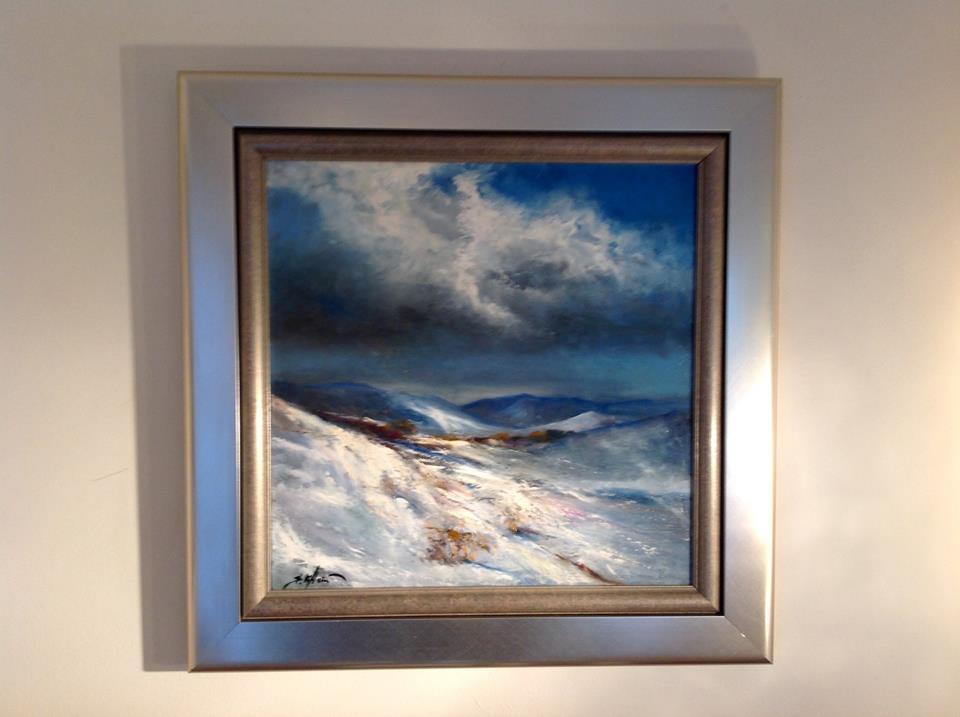 Snowscape by Barbara Heier