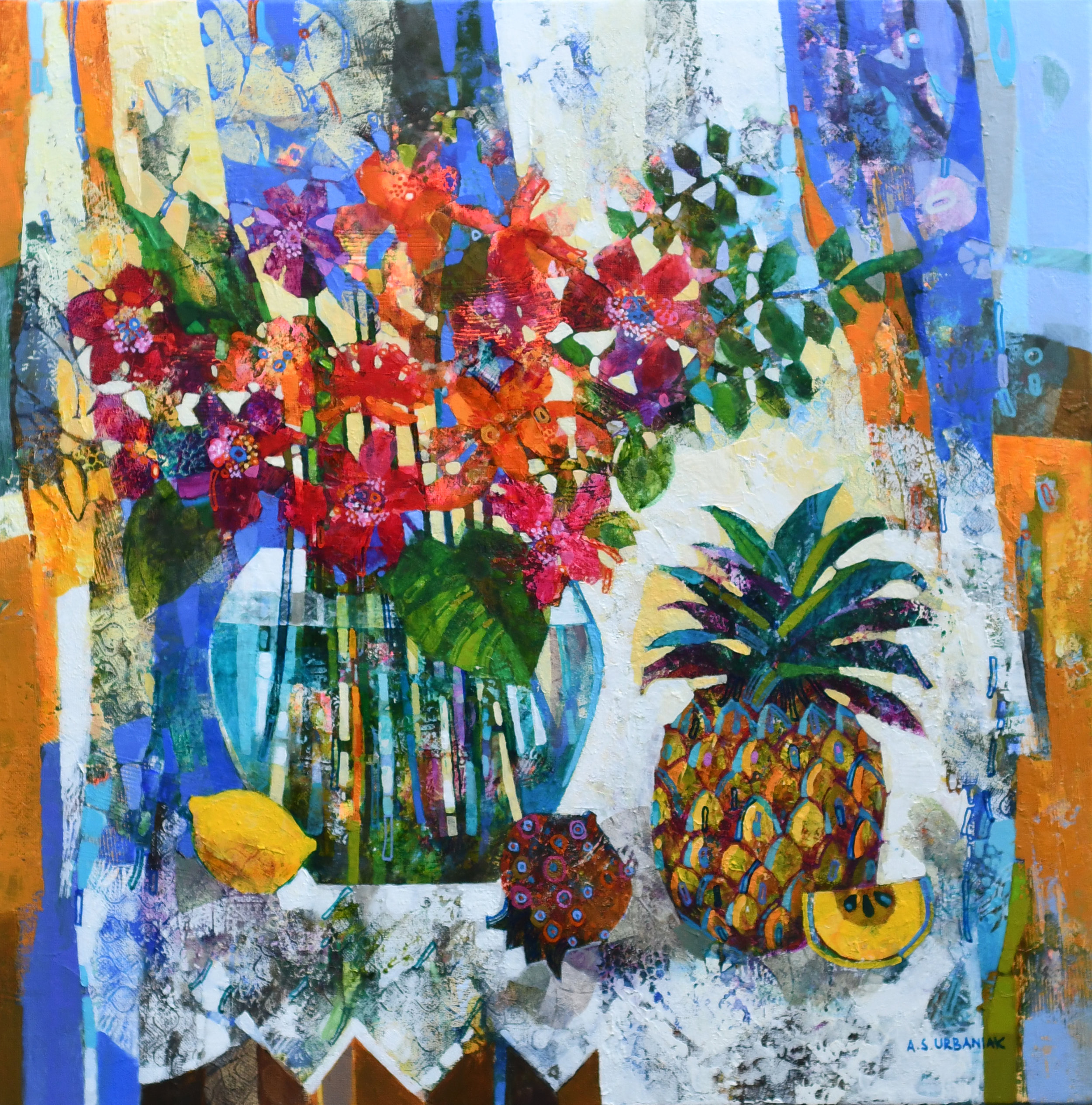 Still-Life-With-Pineapple-Alicia-Urbaniak