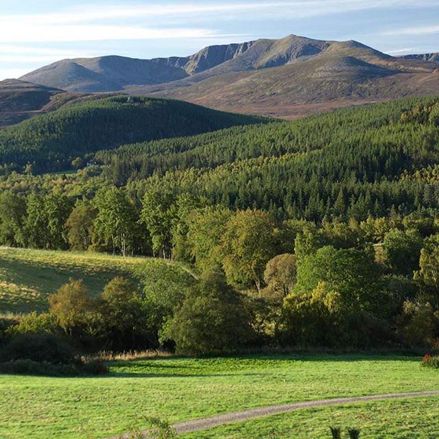 Lochnagar from the gallery yesterday morning.  Good image of the Corrie.  #lochnagar #deevalley #royaldeeside #cairngormnationalpark #knockgallery