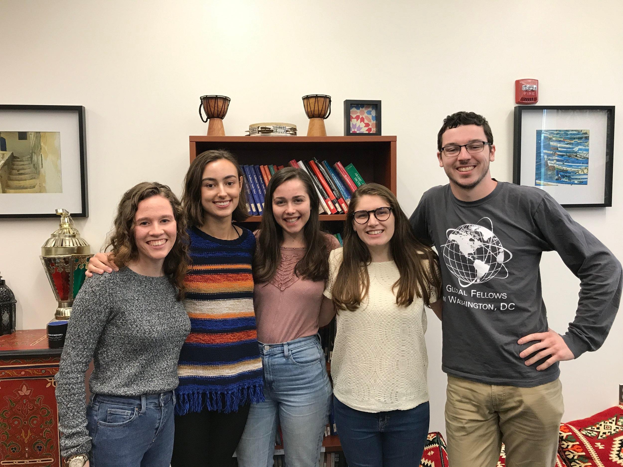 2019 - Margaret, Joanna, Madison, Jacqueline, Andrew