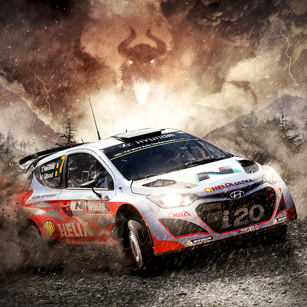 Wales Rally GB 2013/14 - CONCEPT | BRANDING | DIGITAL ARTWORK