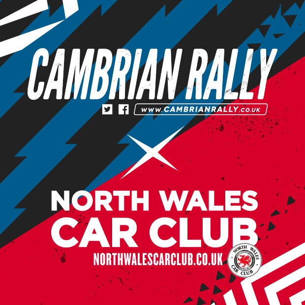 CAMBRIAN RALLY X NORTH WALES CAR CLUB - BRANDING | PRINT DESIGN