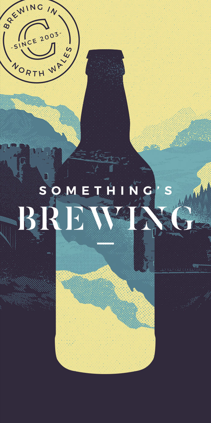 Conwy Brewery - ILLUSTRATION | PACKAGING | SOCIAL MEDIA