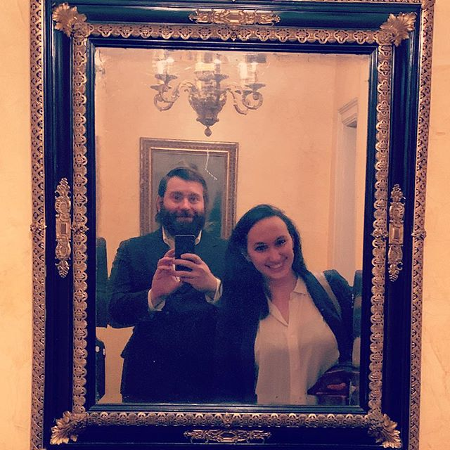 Obligatory ridiculously wealthy person's apartments foyer selfie.