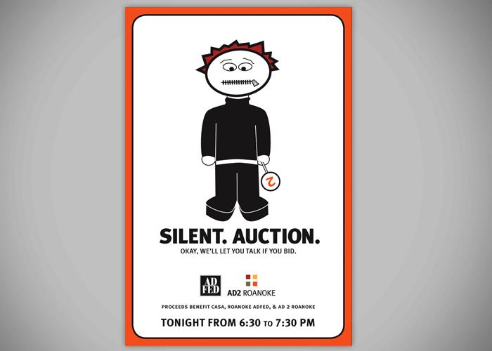 Silent. Auction.