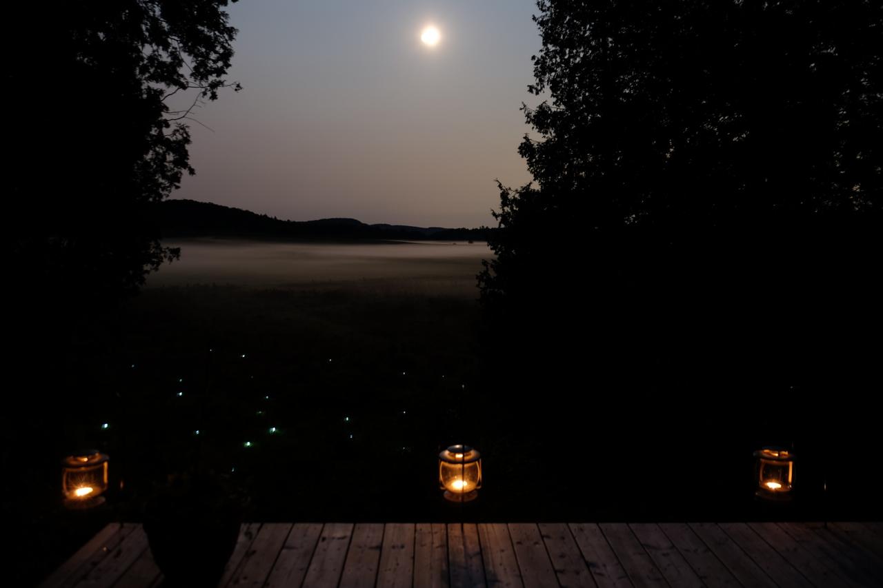 Plateforme d'observation de la lune
