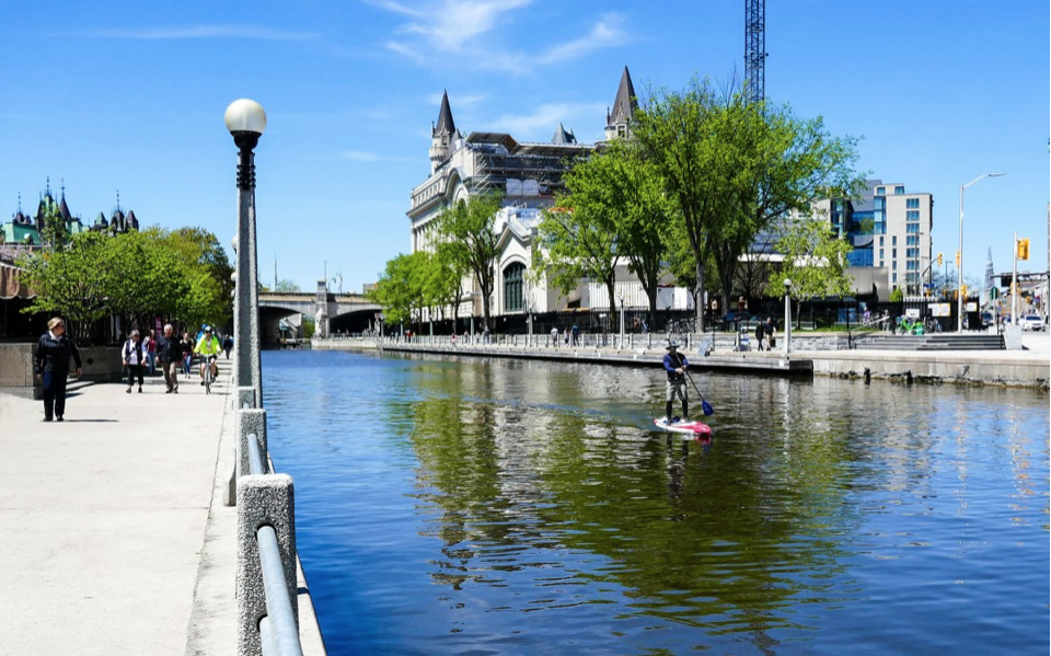 UNESCO World Heritage Site Rideau Canal, Ottawa