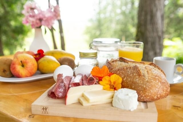 Your European continental breakfast - ready when you are!