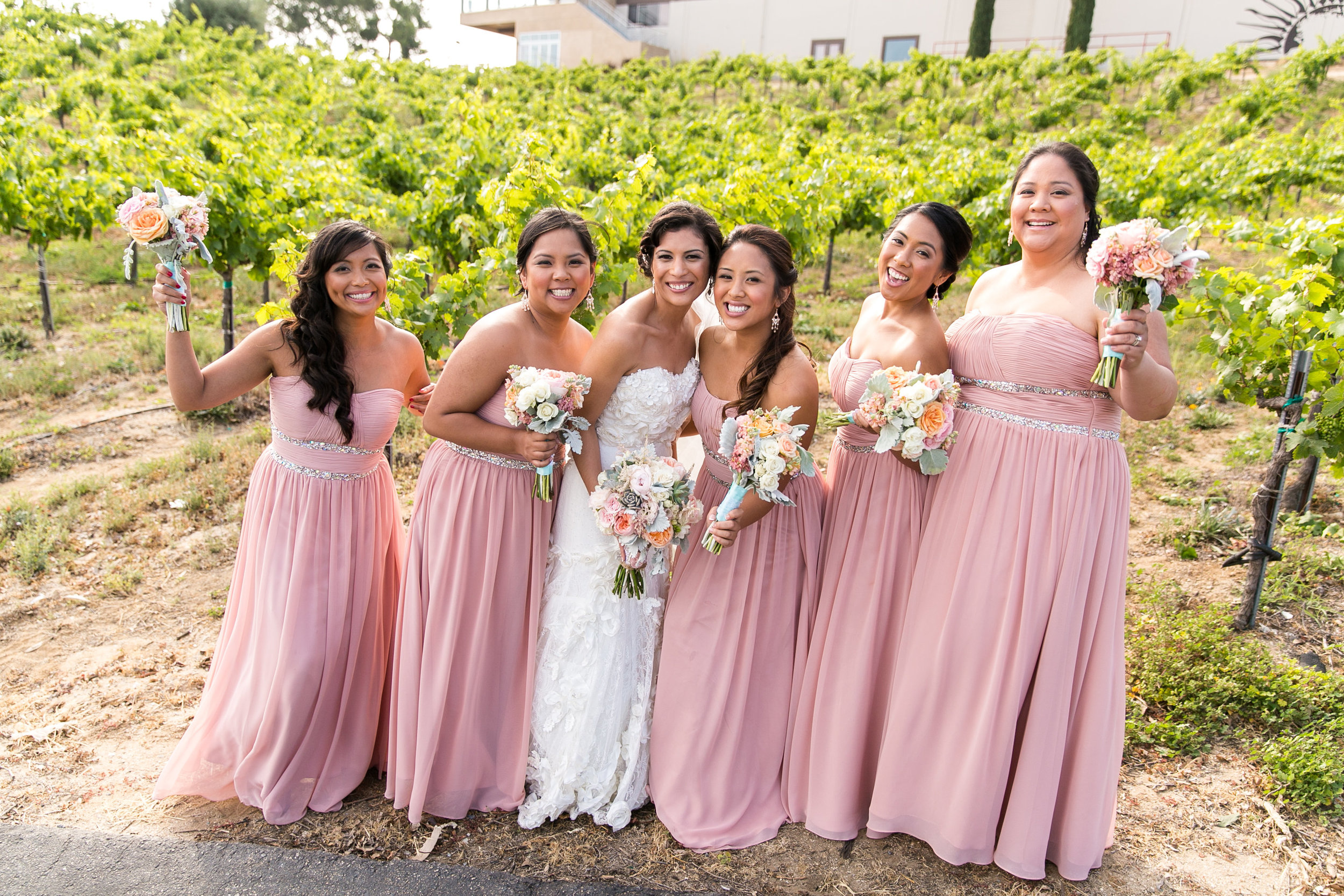 Temecula Wedding Hair and Makeup | Southern California Wedding | Callaway Winery Wedding