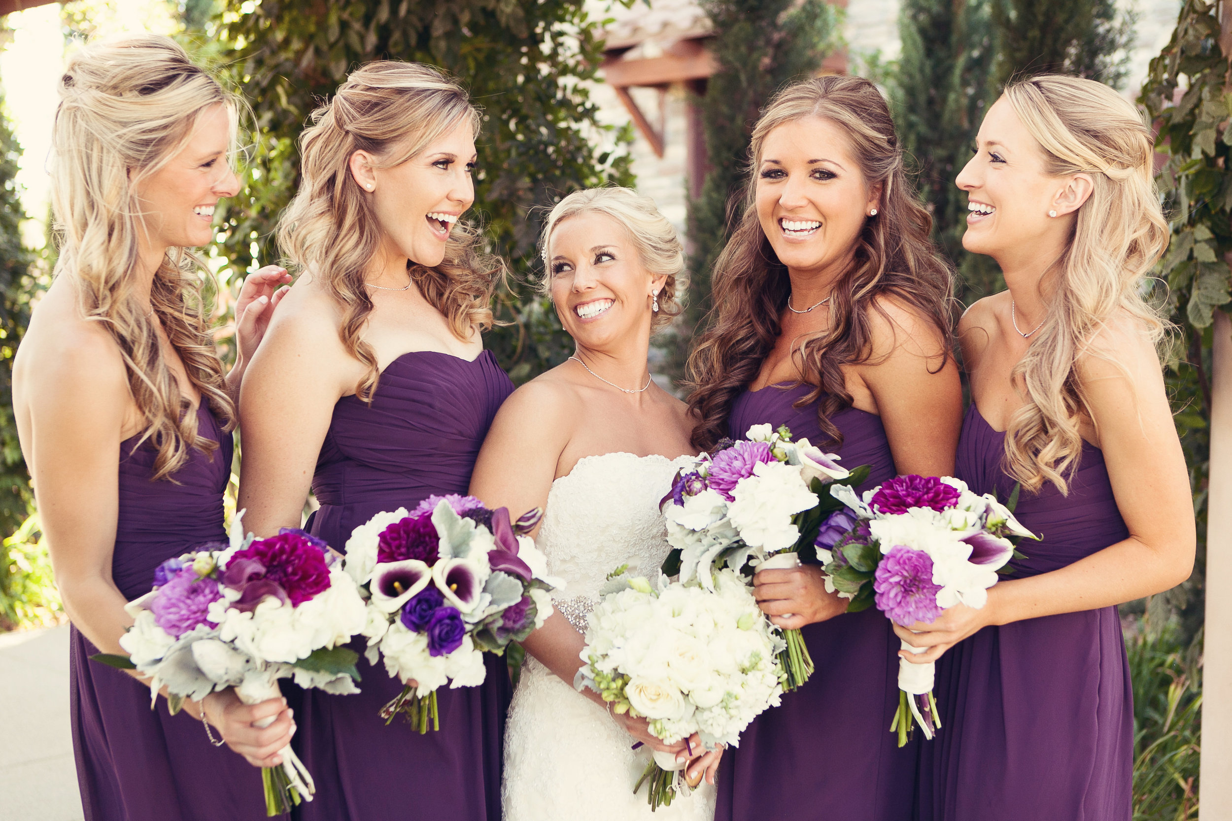 Temecula Wedding | Pointe Winery | Temecula Makeup Artist | Temecula Hair Stylist |
