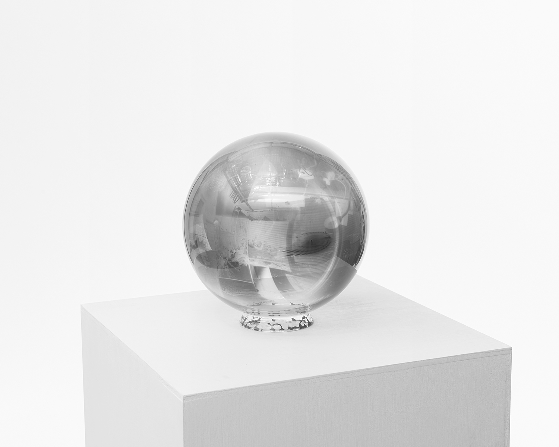 Glass Sphere Negative, #17