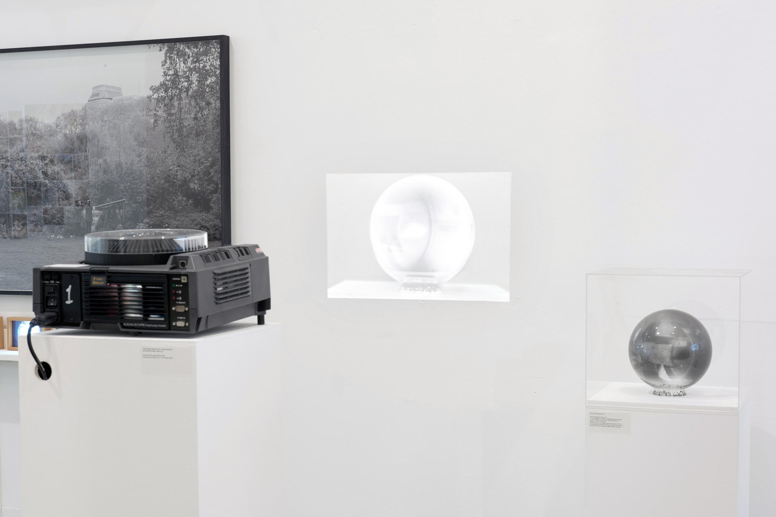 Kodak Ektapro 9020 Cine Projecting Slides of the Rephotographed 3D Negative