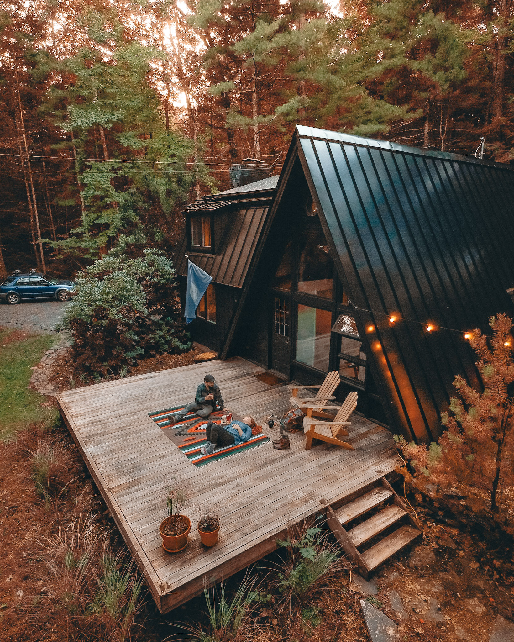 'A Black A-Frame' Kerhonkson, NY - Photo: Chris Daniele
