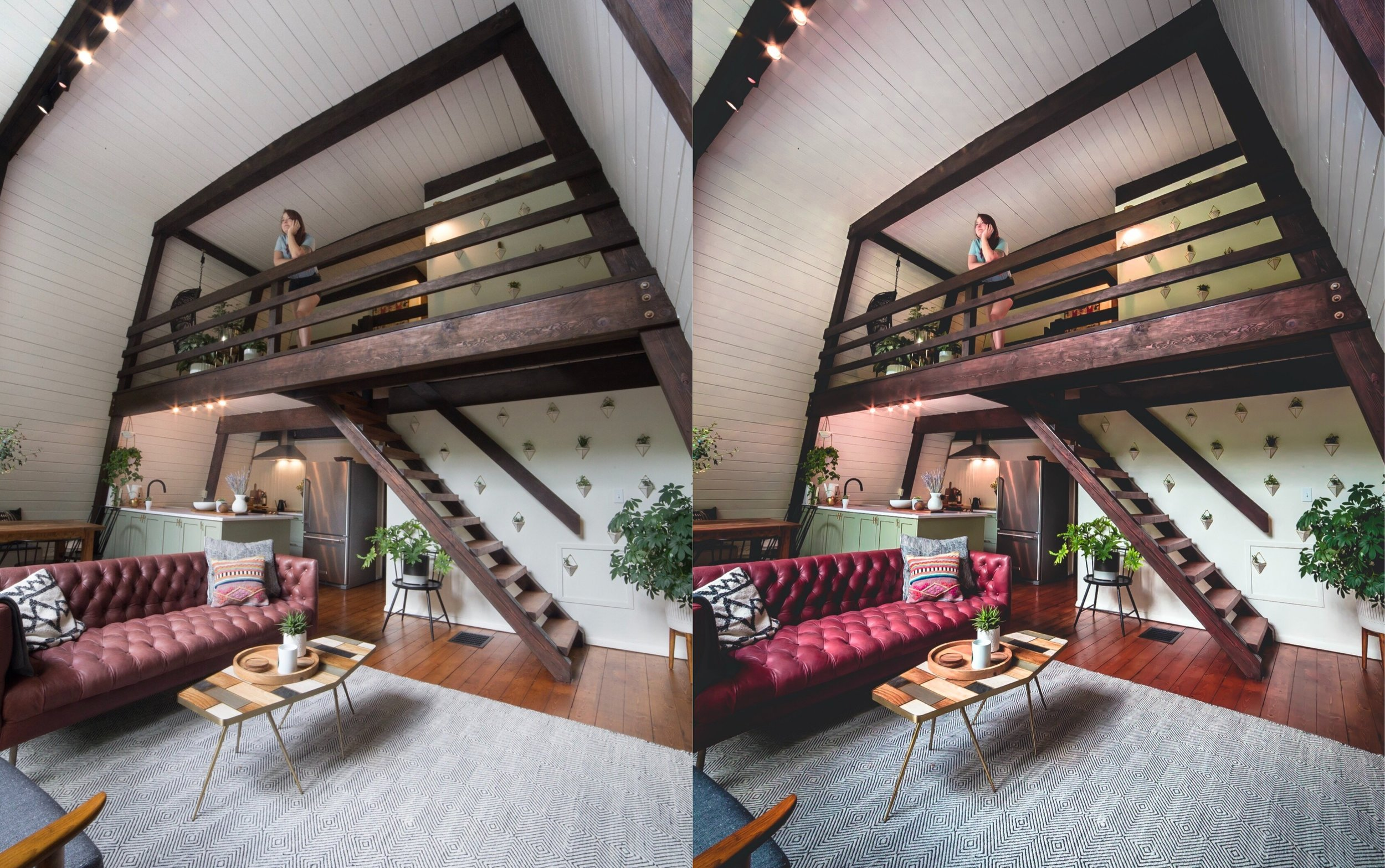 Rosey Interior