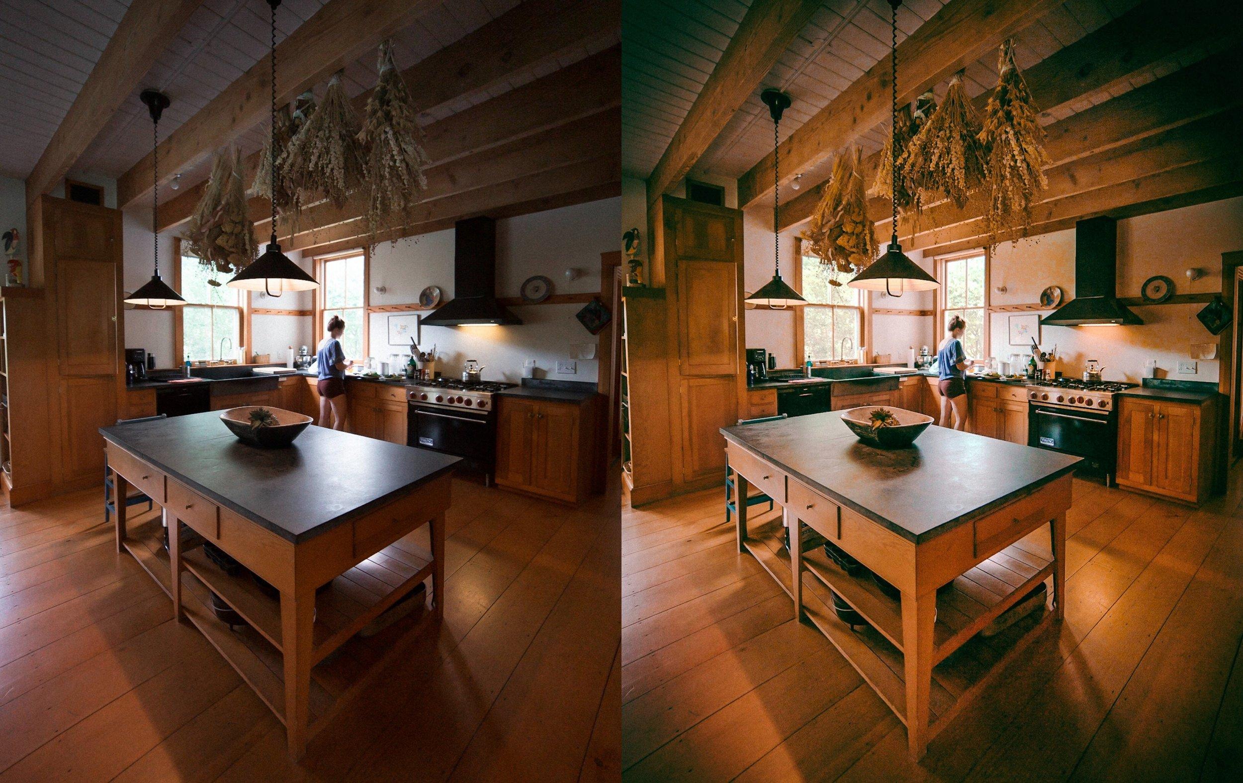 Warm Farmhouse Interior