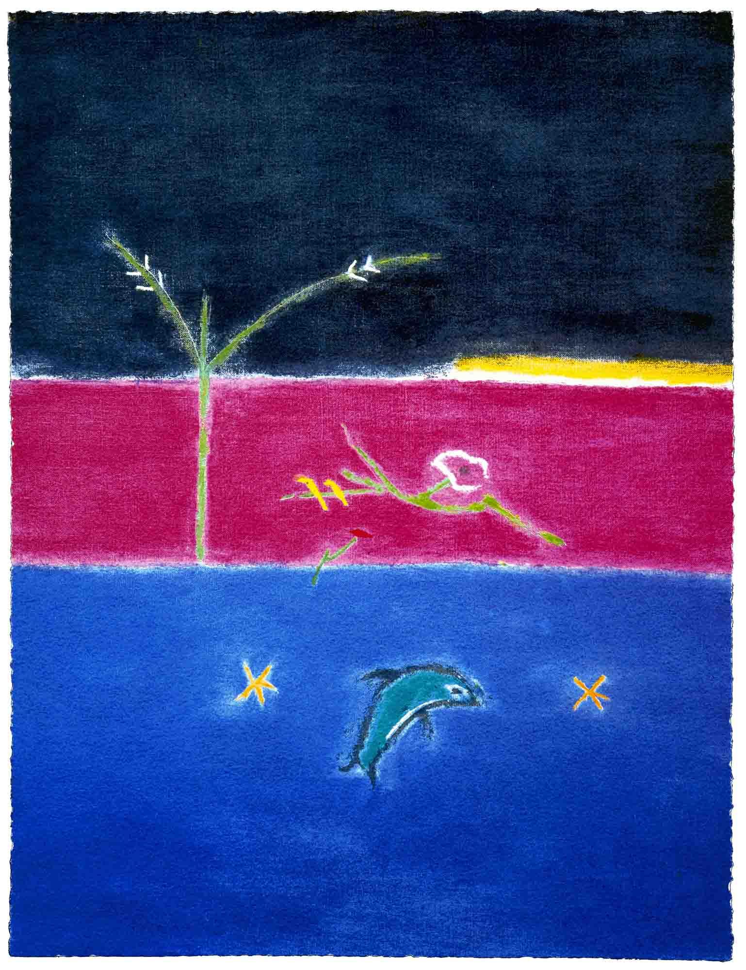 LOW Craigie Aitchison, Dolphin, 2004.jpg