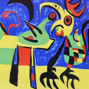 Miro, The Dog Howls at the Moon, Lithograph.jpg