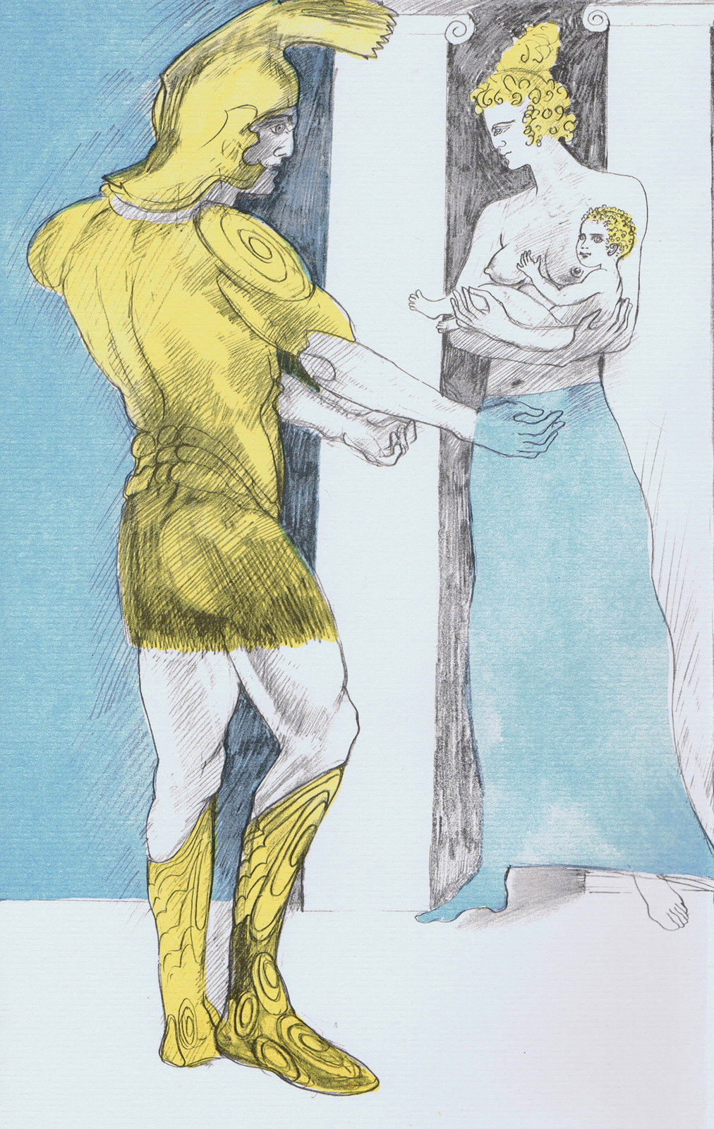 FRINK, E - Iliad, Glorious Hector held out his arms to take his boy.jpg