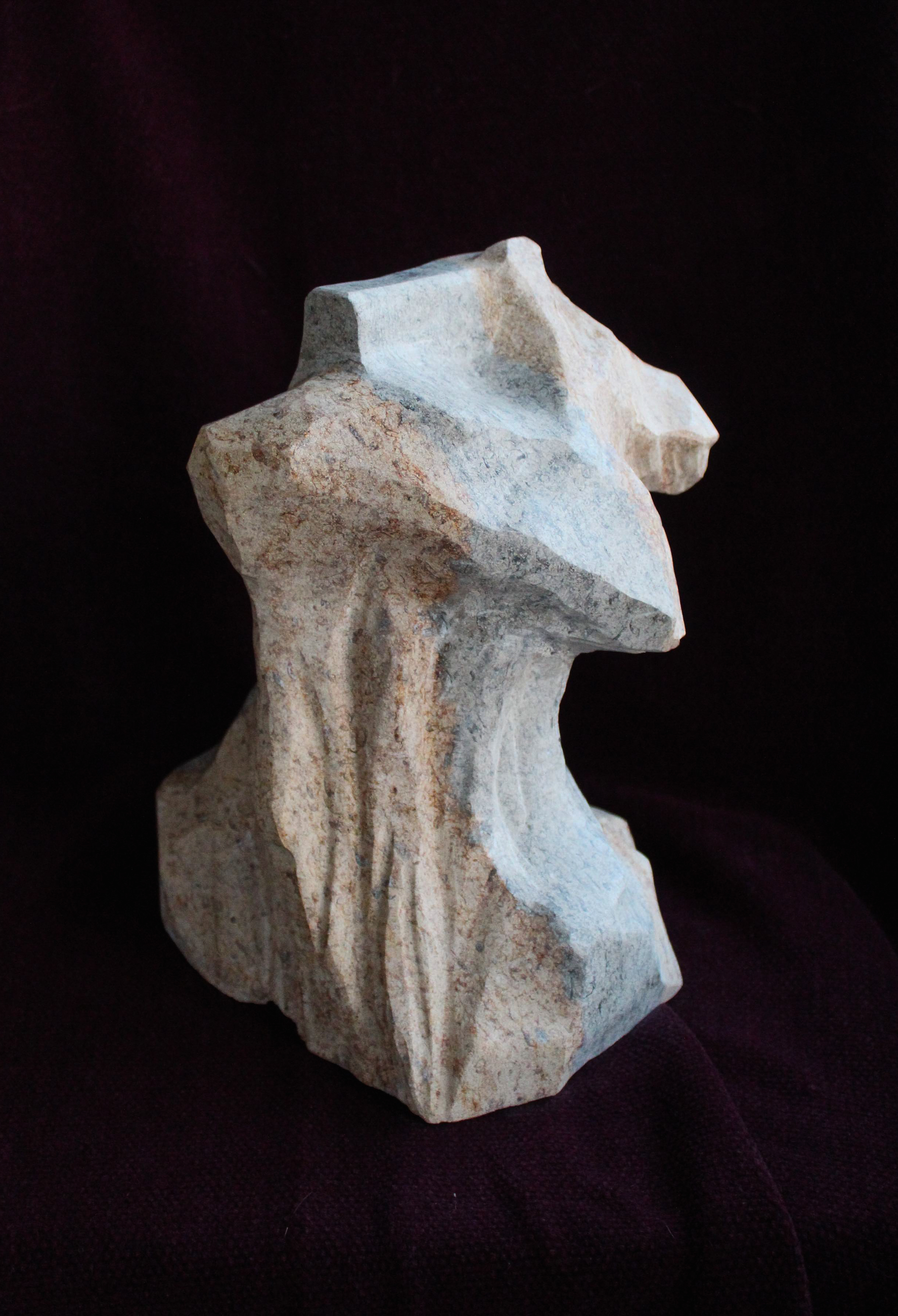 Longing,  Carved natural stone, Rory Cannon