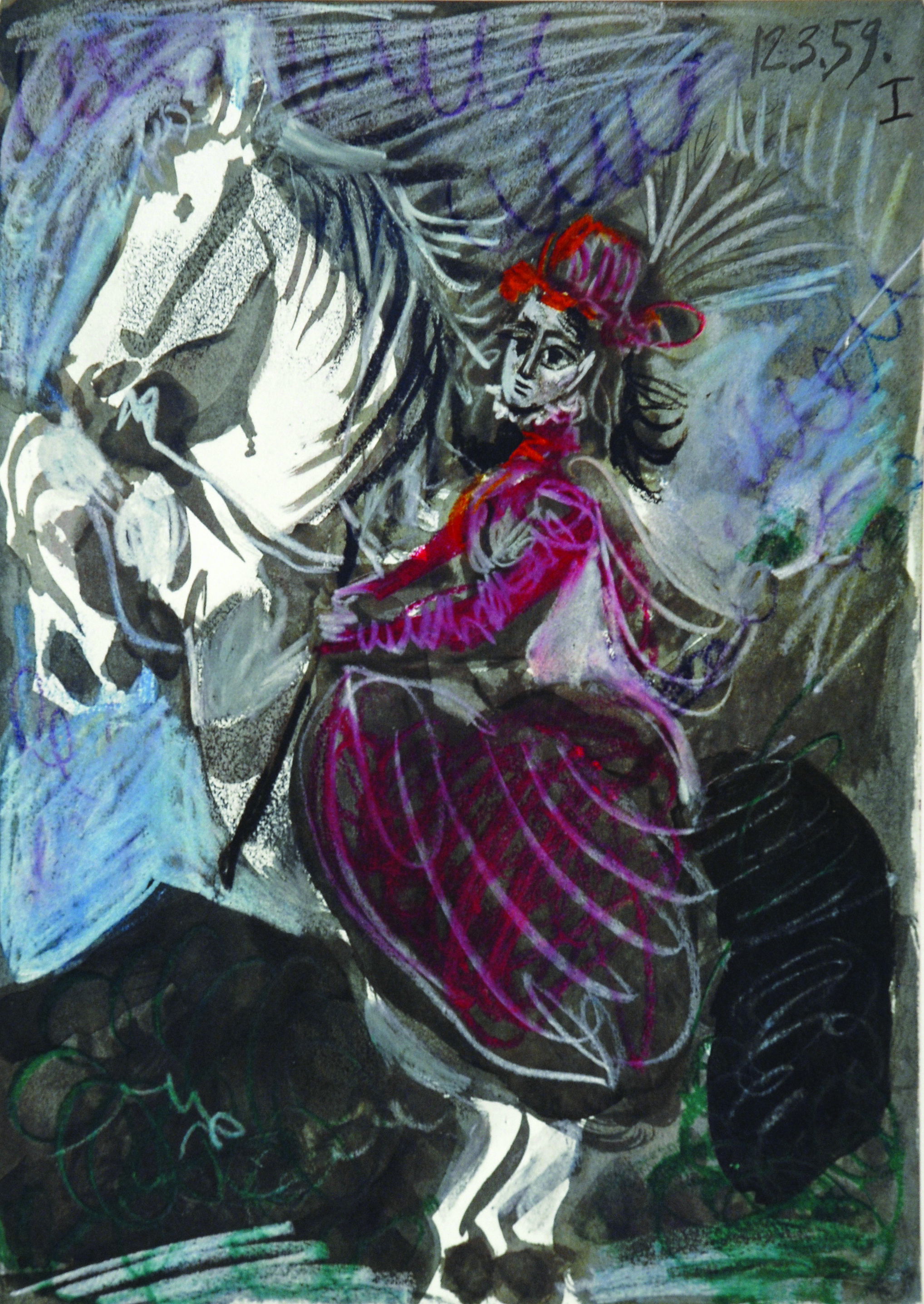 12.3.59 (from Toros y Toreros) , Offset Lithograph, 1959