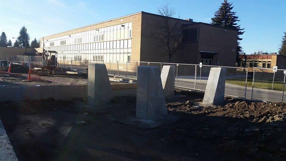 Entry columns