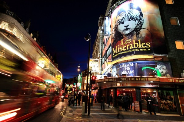 Decades from now, Les Mis will probably still be playing at the Queen's Theatre. It's never too late