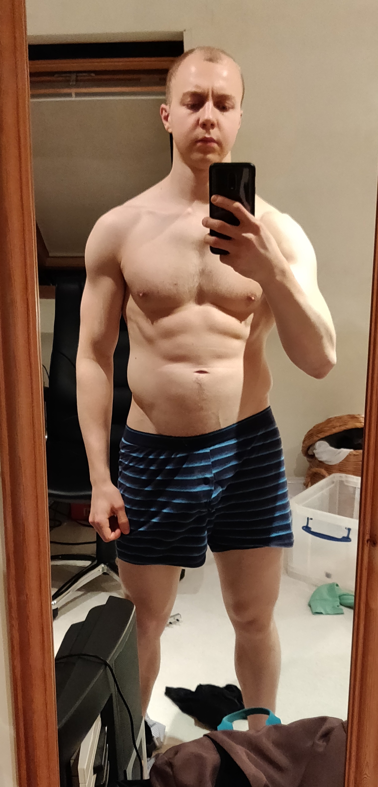 May 2019, two months of calorie counting, 81kg