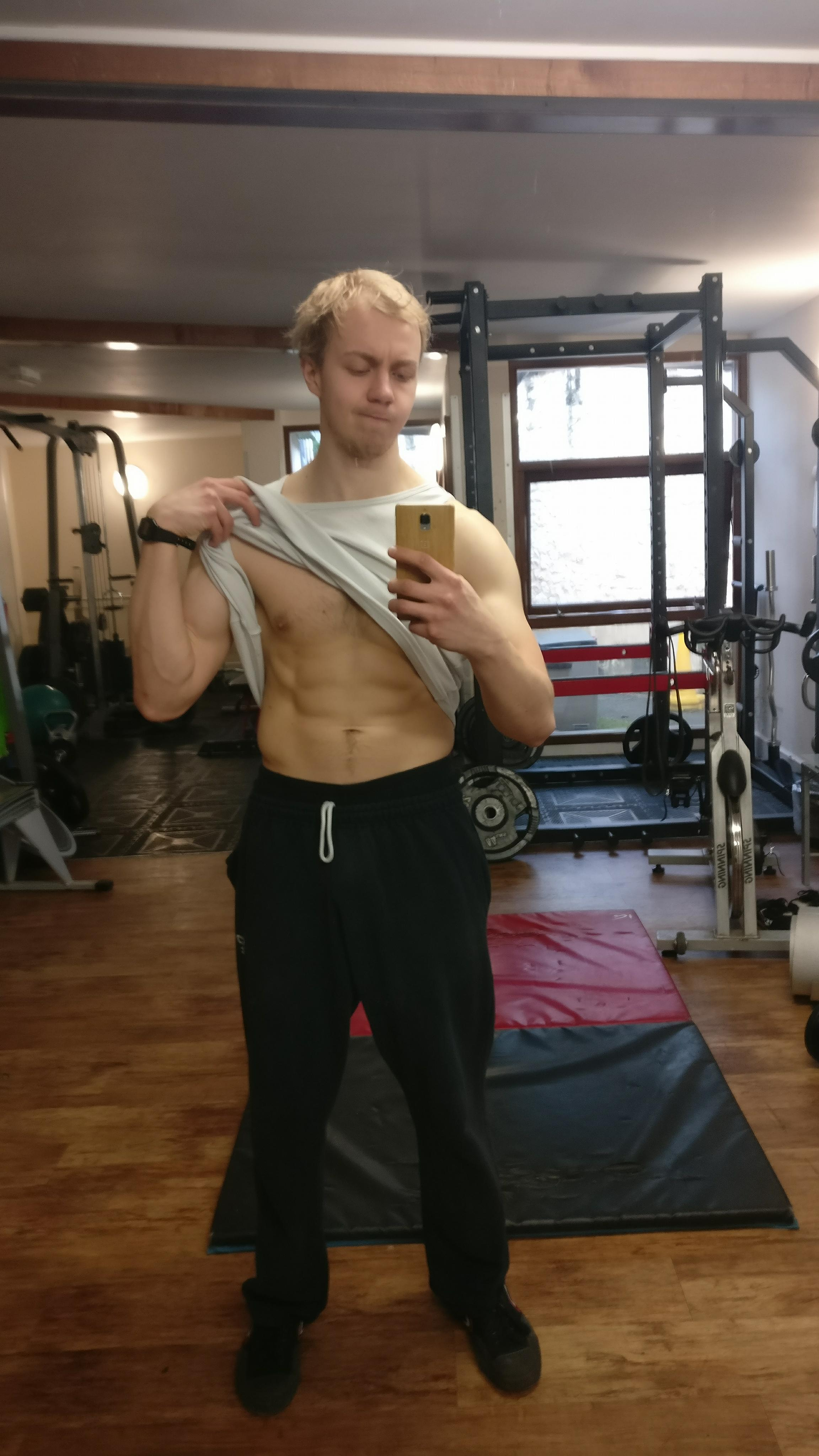 Early 2018. 80kg