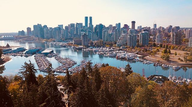 🎥🎥 #vancouver #canada #filming #landscape #dji #dronephotography #dronestagram
