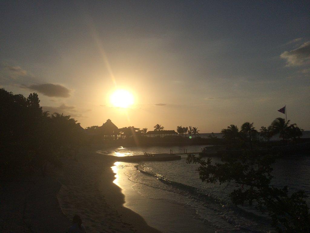 Pôr do Sol Jamaica.