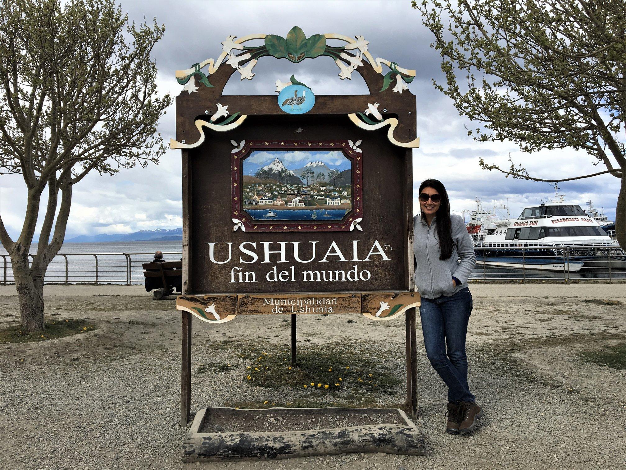 Ushuaia Fin del Mundo.