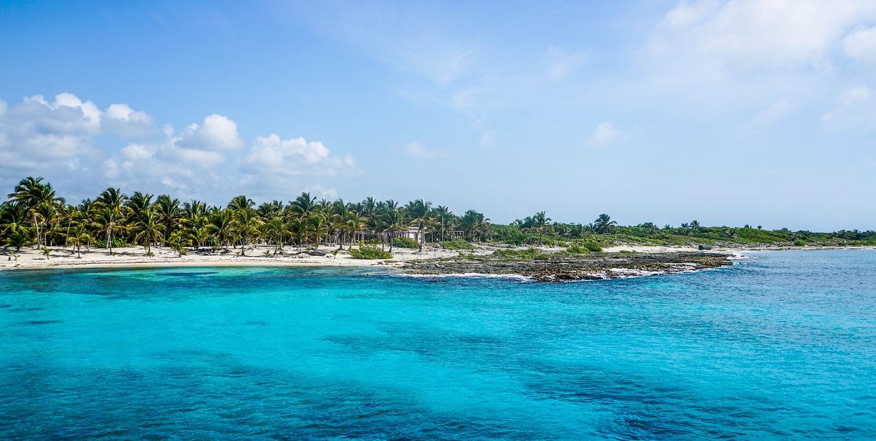 Ilha de Cozumel, México.