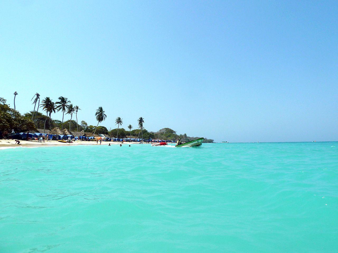 Playa Blanca, Isla Barú.