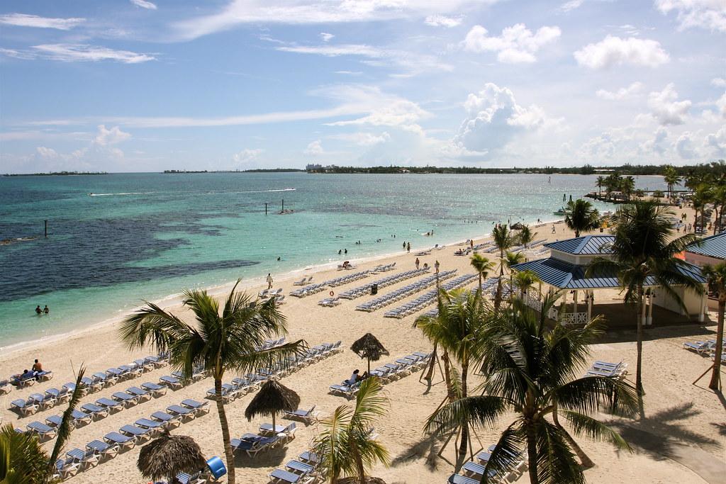 Cable Beach, Nassau.