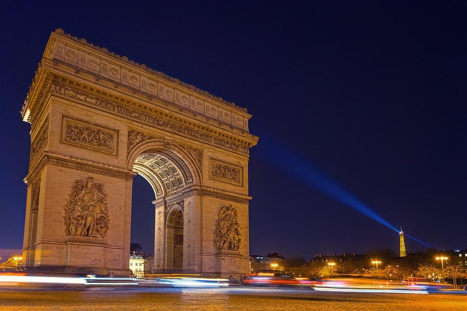 Arco do Triunfo, Paris.