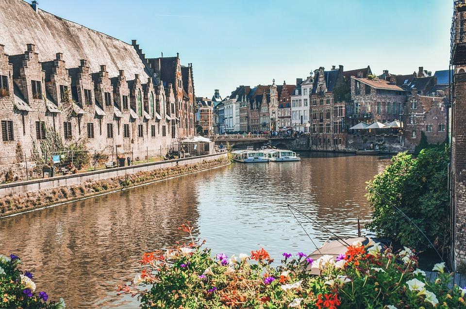 Gent, Bélgica.