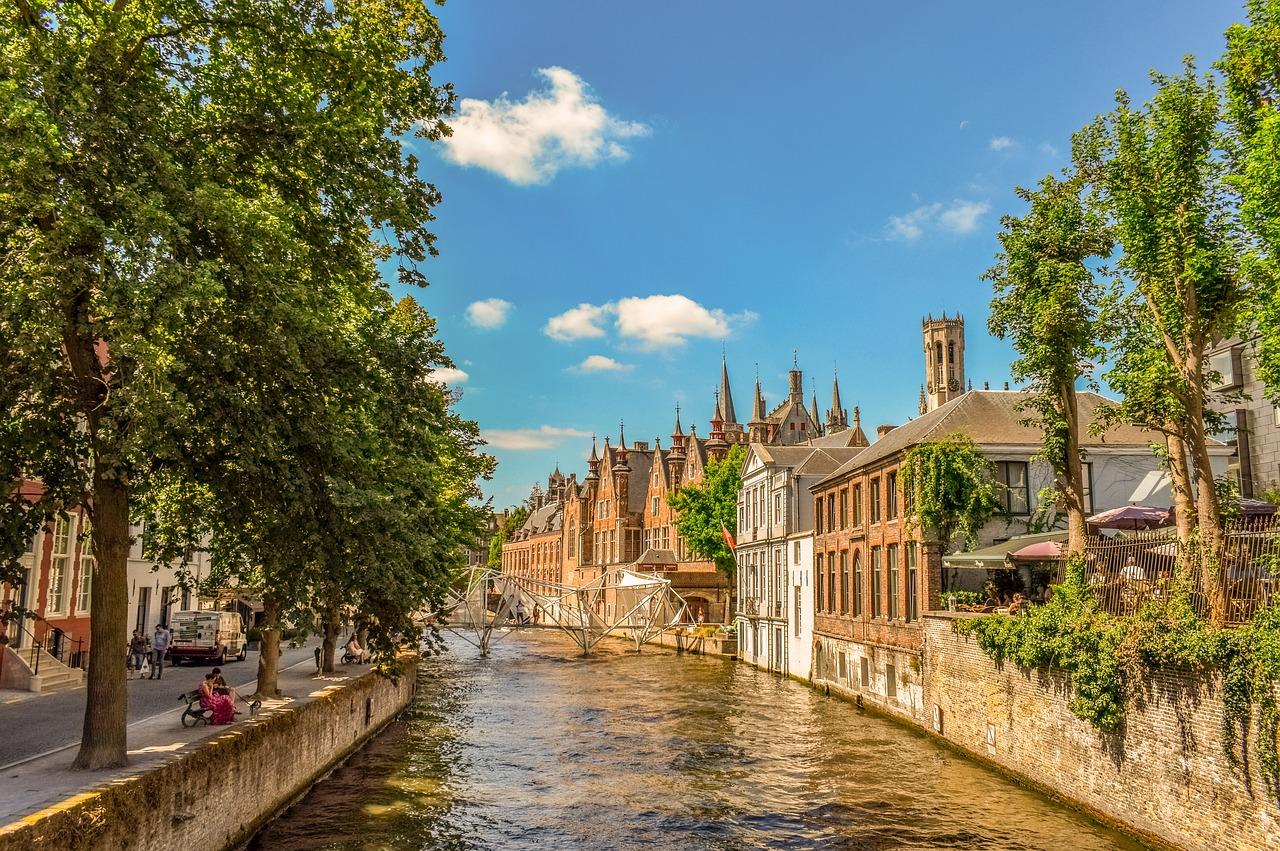 Bruges, Bélgica.