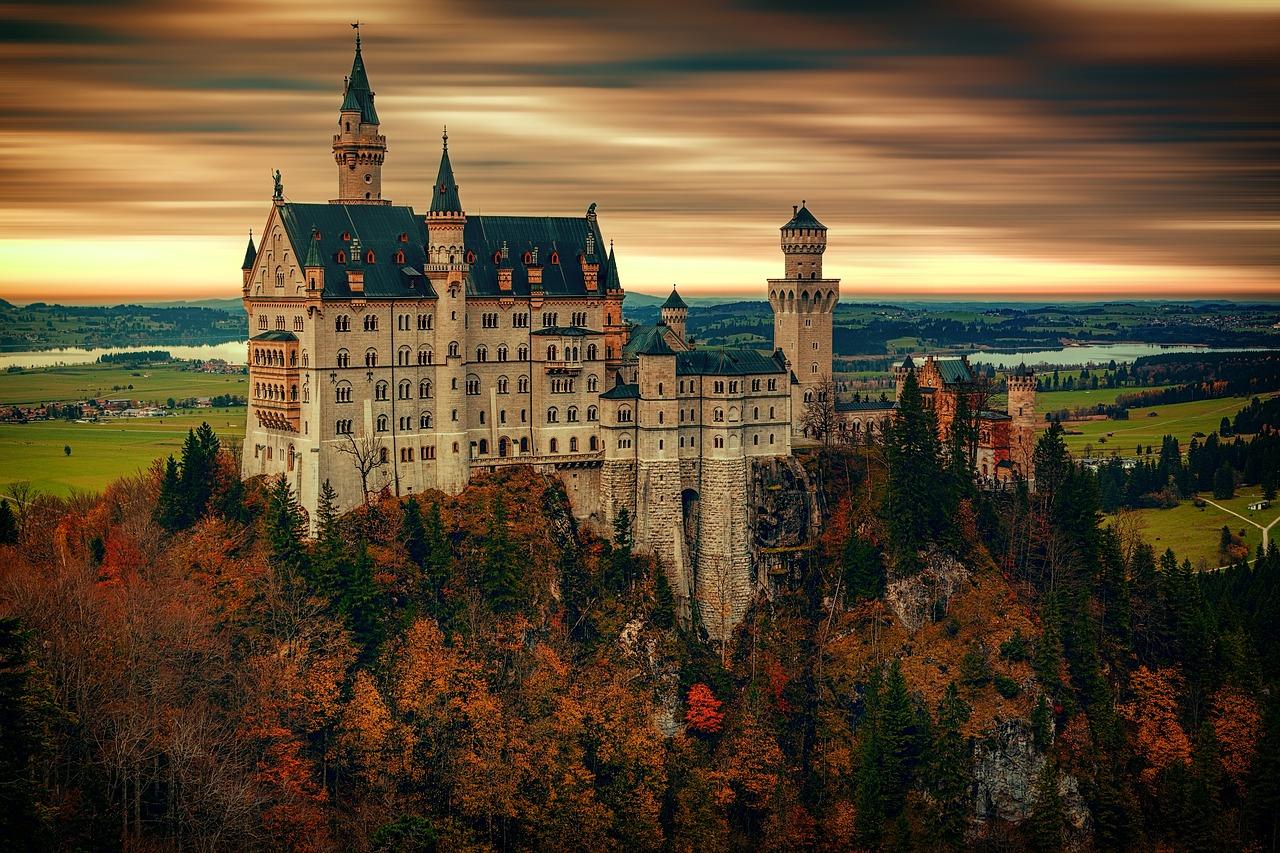 Castelo de Neuschwanstein, Alemanha.