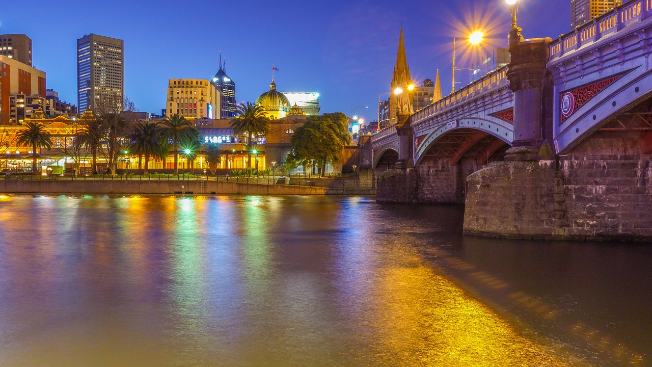 Melbourne, Austrália.