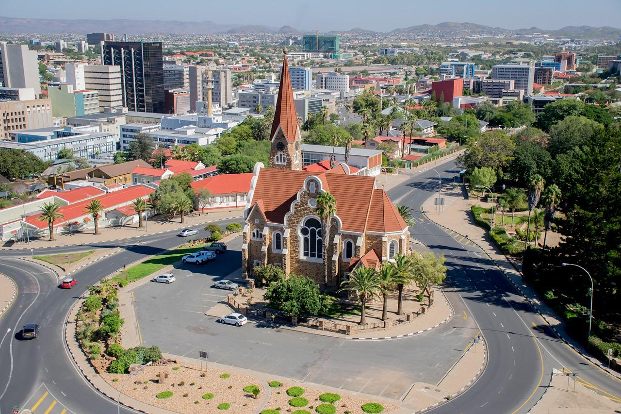 Windhoek, Namíbia.