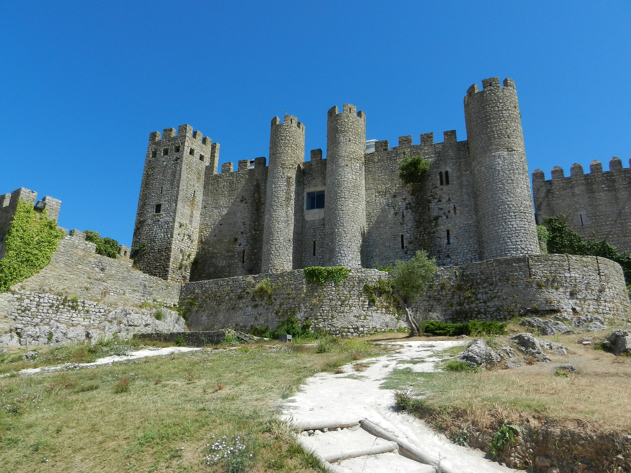 Castelo de Óbidos, Óbidos, Portugal.