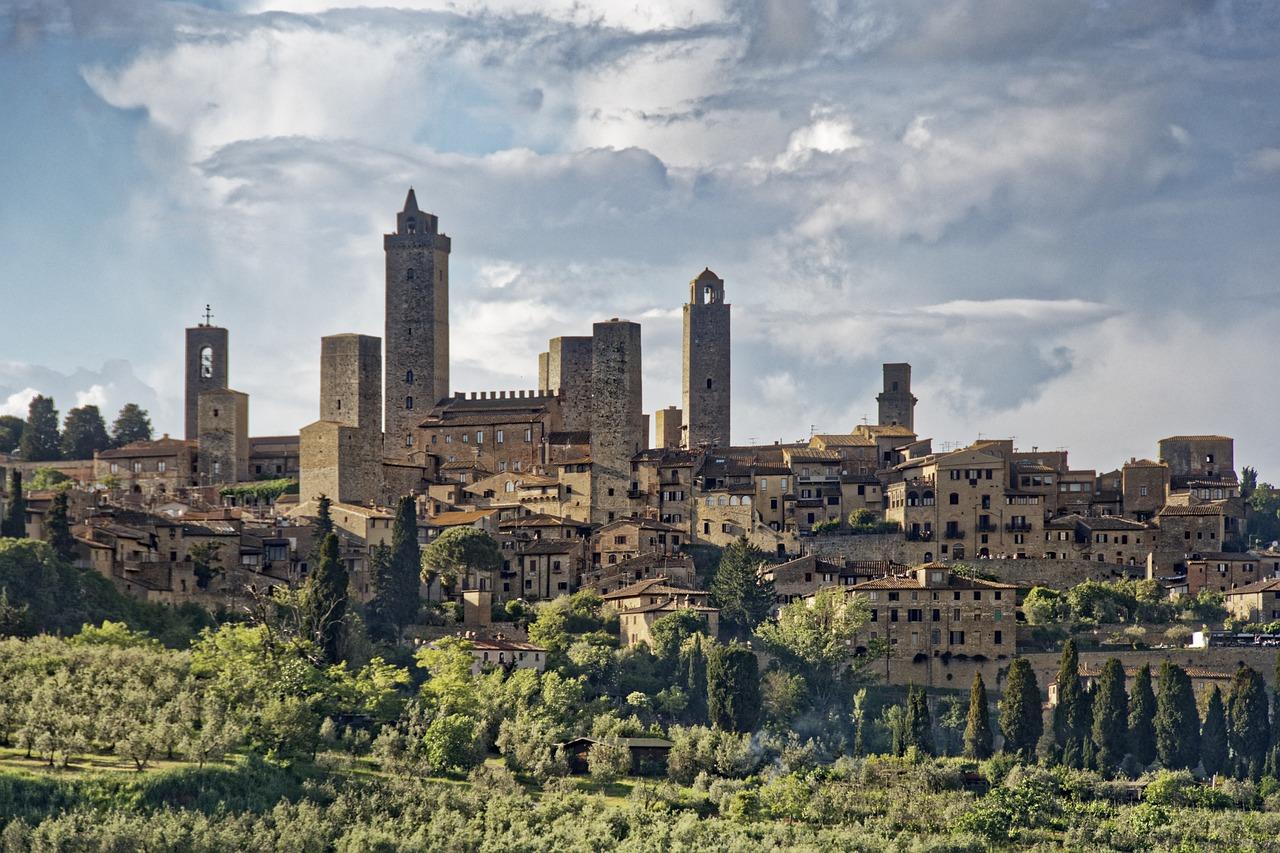 San Gimingnano, Itália.
