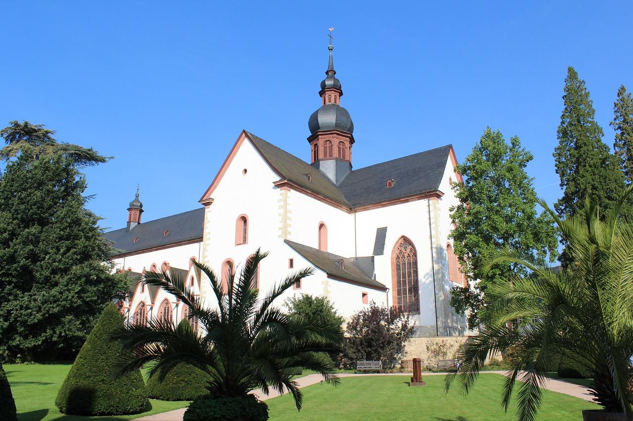 Mosteiro de Kloster Eberbach, Eltville am Rhein, Alemanha.