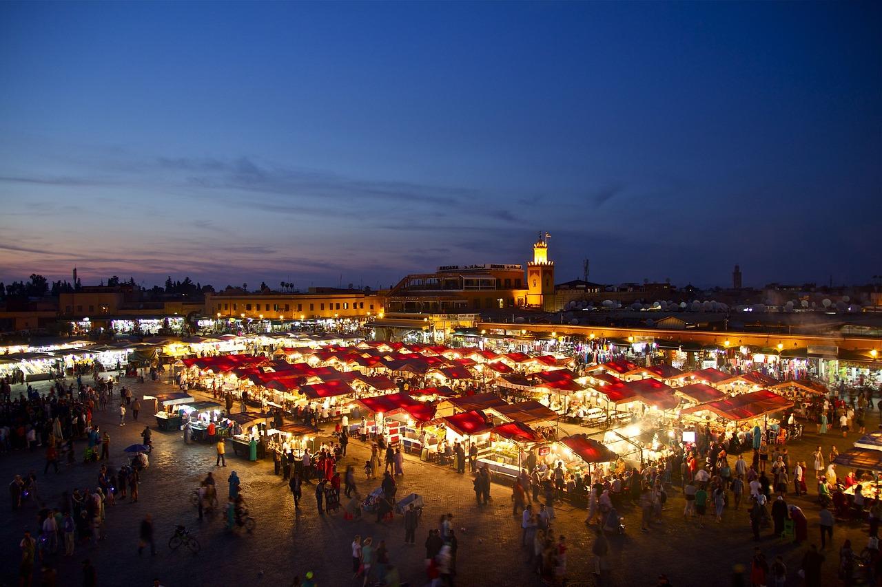 Marrakech, Marrocos.