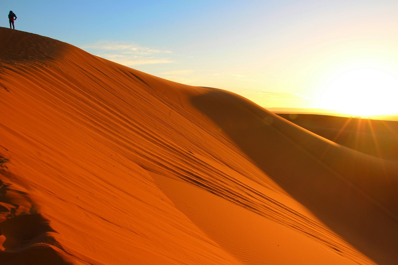 Deserto do Saara.
