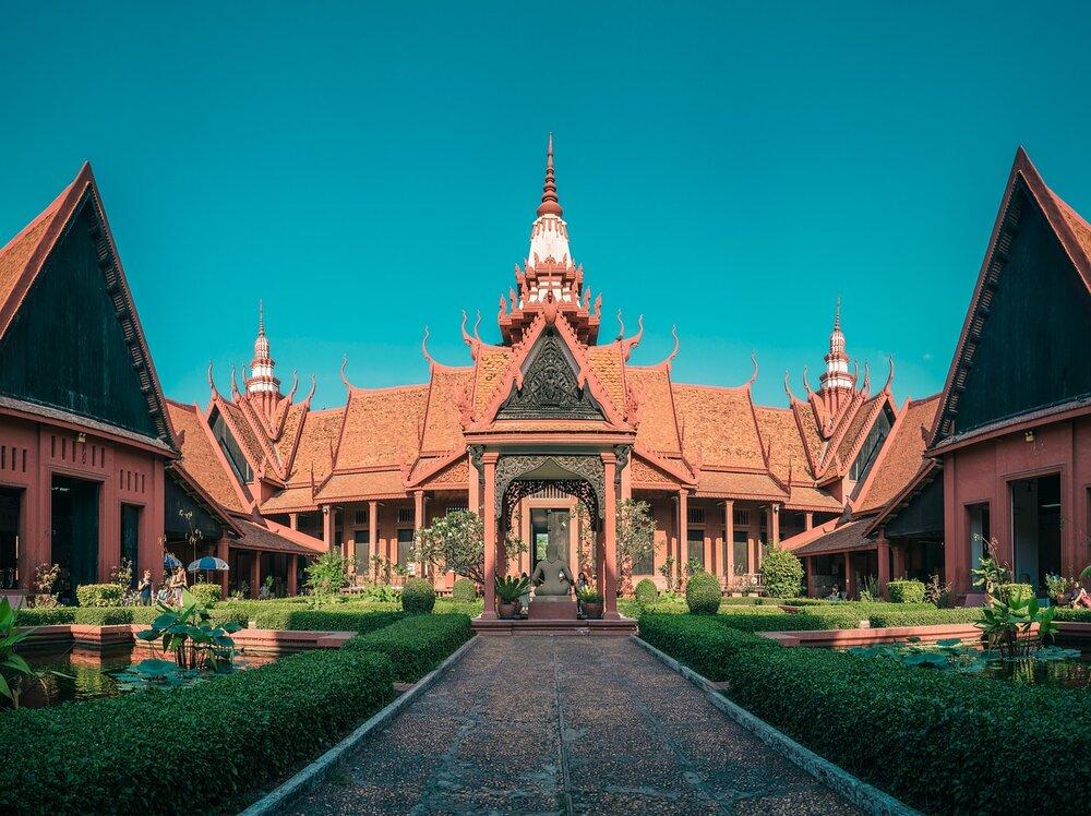 Palácio Real, Phnom Penh, Camboja.