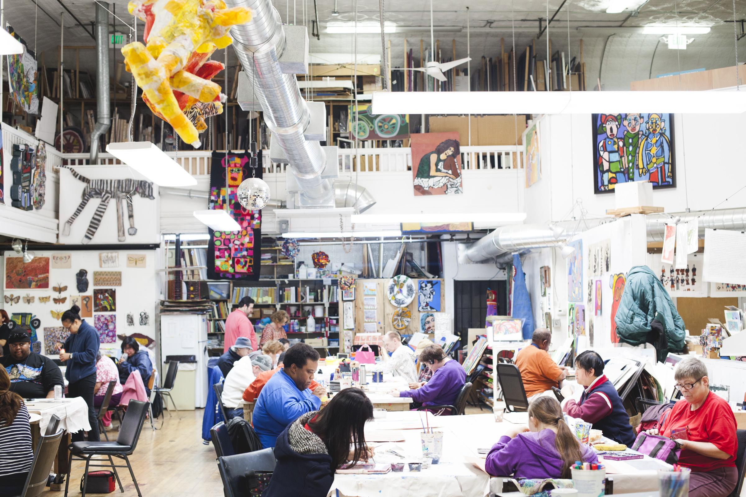 Creativity Explored studio